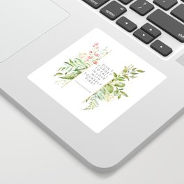 Don't Forget To Fall In Love With Yourself First, Carrie Bradshaw, Carrie Bradshaw Quote Sticker