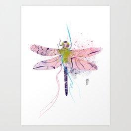 Dragonfly01 Art Print
