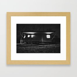 Airstream International Signature Framed Art Print