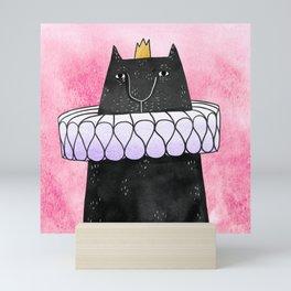 Cat Prince Mini Art Print