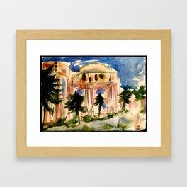 Palace of Fine Arts - San Francisco Framed Art Print