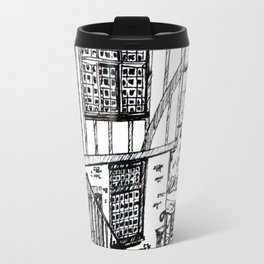 Traditional House in York, England Travel Mug