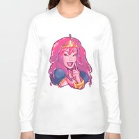 bubblegum Long Sleeve T-shirts featuring bubblegum by asieybarbie