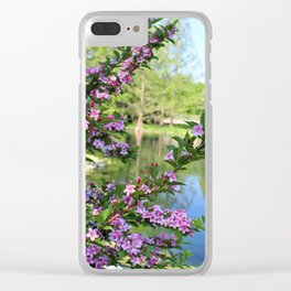 Tripped Up Love Clear iPhone Case