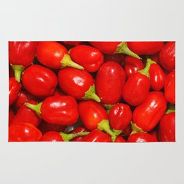 Red peppers Rug