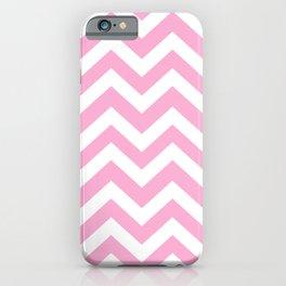 Lavender pink - pink color - Zigzag Chevron Pattern iPhone Case