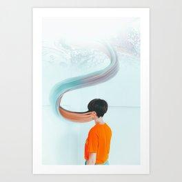 Into the WNDRLND Art Print