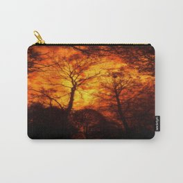 THE FOREST UNDER THE BURNING SKY Carry-All Pouch