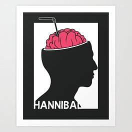Michelin Starred Cannibal Art Print