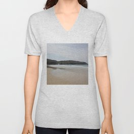 Beach 2 Lewis and Harris 1 Unisex V-Neck