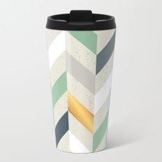 abstract214 Metal Travel Mug