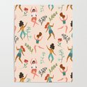 Central Park Zumba #illustration #pattern #womensday by 83oranges