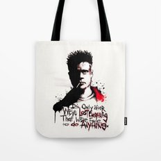 Lost Everything Tote Bag