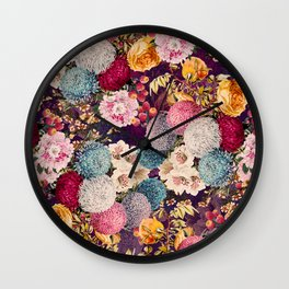 EXOTIC GARDEN X Wall Clock