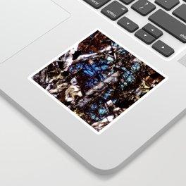 Pyroxene and Feldspar Sticker