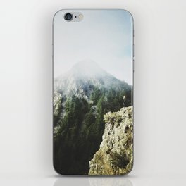 She saw the mountain mist iPhone Skin