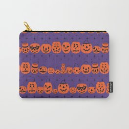 Trick or Treat Smell My Feet- Purple Carry-All Pouch