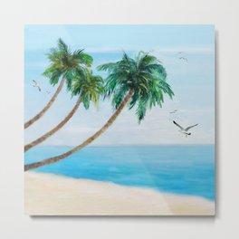 Palm Trees 2 Metal Print