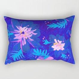 Blue Anna May Rectangular Pillow