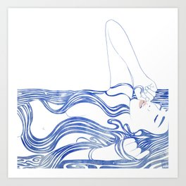 Water Nymph XXXIV Art Print