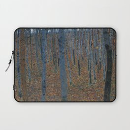 Gustav Klimt - Beech Grove Laptop Sleeve