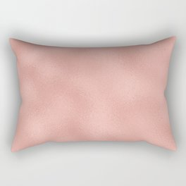 Rose gold - Touch of Rose Rectangular Pillow
