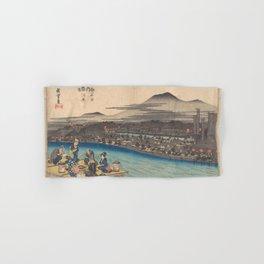 Japanese Print Hand & Bath Towel