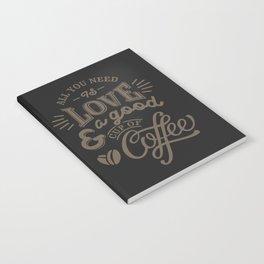 Love Coffee Notebook