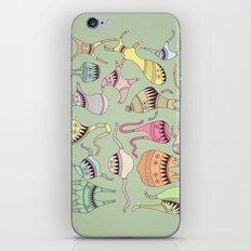 mostriciattoli big family iPhone & iPod Skin