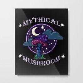 Mythical Mushroom Metal Print
