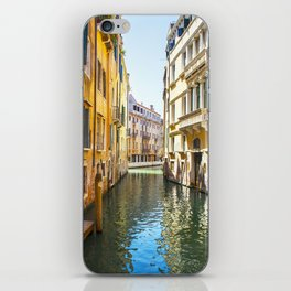 A Gondola Ride through Venice iPhone Skin