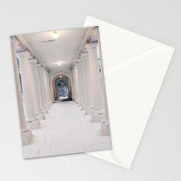 Snowy Columns (UVA) Stationery Cards