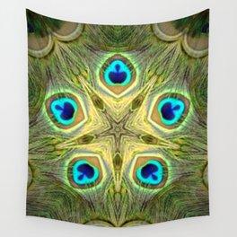 Estrella pavo 3 Wall Tapestry