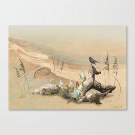 Beach Oasis Canvas Print