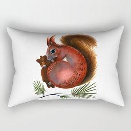 TinTin The Red Squirrel Rectangular Pillow