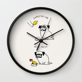 Expectation and Plot Twist Wall Clock