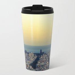 Barcelona view Travel Mug