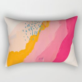 Abstract Line Shades Rectangular Pillow