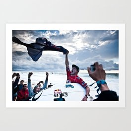 Mick Fanning  Surf, Hossegor- France - 2013 Art Print