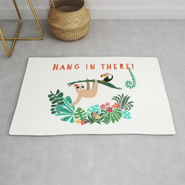 Hang in there! - Sloth Rug