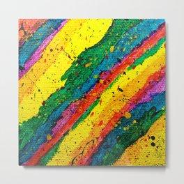 Rainbow Abstract #11 Metal Print