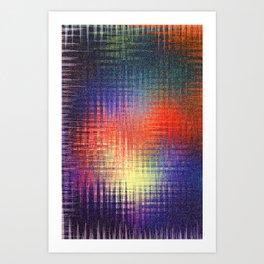 The Colour Scheme Art Print