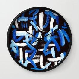 Synesthesia Art (BACH) Wall Clock