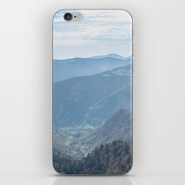 French mountain view iPhone Skin