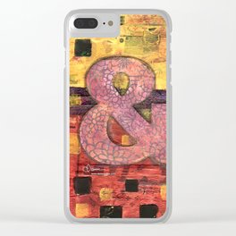 Journey by Number: Ampersand Clear iPhone Case