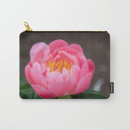 Coral Peony by Teresa Thompson Carry-All Pouch