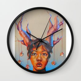 Holy Fungus Wall Clock