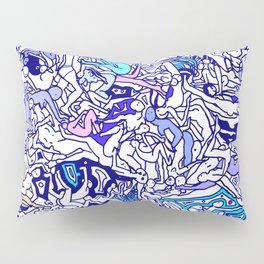 Kamasutra LOVE - Indigo Blue Pillow Sham