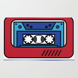 """Awesome design with cool text made just right for you! """"90's Mixtape Master"""" makes a nice gift! Rug"""