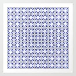 Graphic Art Pattern-P3-C6 Art Print